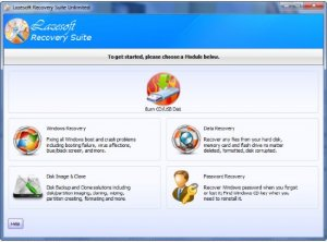 Lazesoft Recovery Suite Unlimited Edition 3.5.1