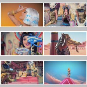 Katy Perry & Juicy J - Dark Horse (НD1080, 2014)/MP4