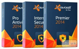 Avast! Antivirus Pro / Internet Security / Premier / Free 2014 9.0.2013 Final (update 19.02.2014)