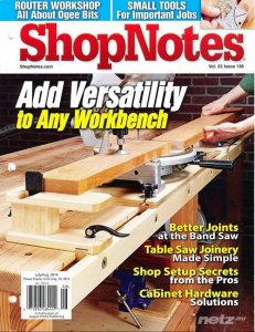 ShopNotes №136 (July-August 2014)
