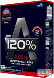 Alcohol 120% 2.0.3 build 6732 RePacK by BoforS