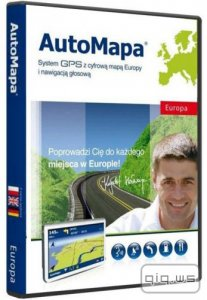 AutoMapa Europe 6.16 1408 Final (ML/RUS) Windows Mobile / Windows PC