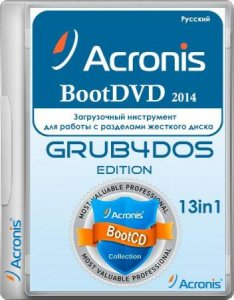 Acronis BootDVD 2014 Grub4Dos Edition v.21 (9/2/2014) 13in1