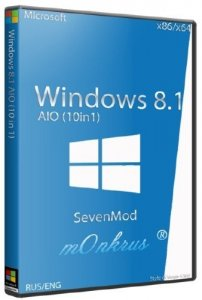 Windows 8.1 SevenMod x86 10in1 Activated AIO (2014/RUS/ENG)
