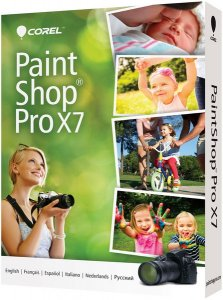 Corel PaintShop Pro X7 17.1.0.72 Special Edition + Ultimate Pack (2015/ML/RUS)