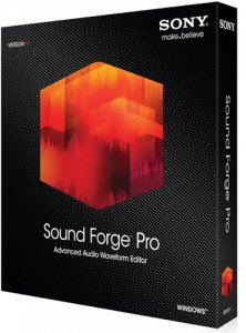 SONY Sound Forge Pro 11.0 Build 299 (2015) RUS