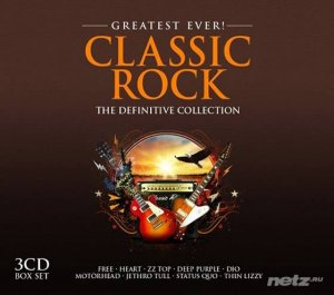 VA - Greatest Ever! Classic Rock (The Definitive Collection) [3CD] (2015)