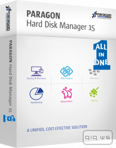 Paragon Hard Disk Manager 15 Premium 10.1.25.710 Recovery CD (x86|x64) ISO