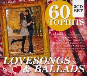 60 Top Hits: Lovesongs & Ballads 3CD (2015)