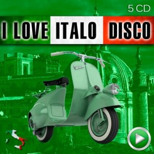 I Love Italo Disco (5 CD) (2015)