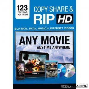 123 Copy DVD Platinum 11.0.6.10 + Portable