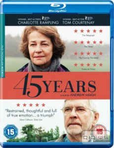 45 лет / 45 Years (2015/BDRip/1080p/720p/HDRip/1400Mb/745Mb)