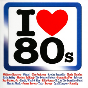 I Love 80s - Sony Music (4CD)