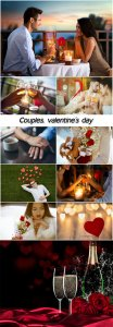 Couples, valentine's day, love, romance