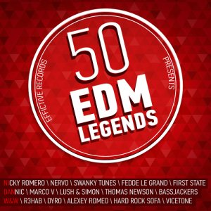 50 EDM Legends Vol. 1 [2015]