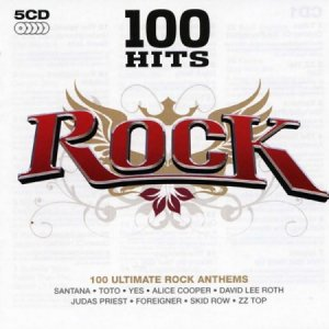 100 Hits - Rock (5CD) (2007)