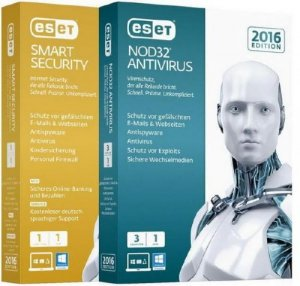 ESET Smart Security + NOD32 Antivirus 9.0.377.1 Final (2016/RUS)