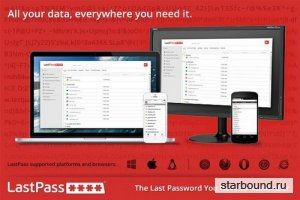 LastPass Password Manager 4.1.36 (Rus/Eng)