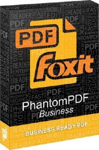 Foxit PhantomPDF Business 8.3.0.14878