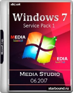 Windows 7 Media Studio SP1 by Xomaze 06.2017 (x86/x64/RUS)