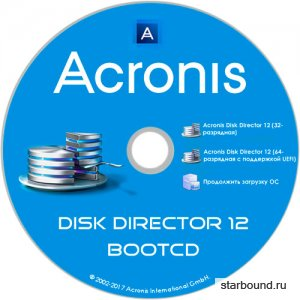 Acronis Disk Director 12 Build 12.0.3297 BootCD