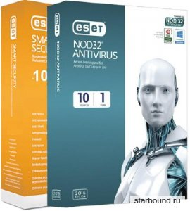 ESET NOD32 Antivirus / ESET NOD32 Smart Security 10.1.219.1 RePack by KpoJIuK (8-в-1)