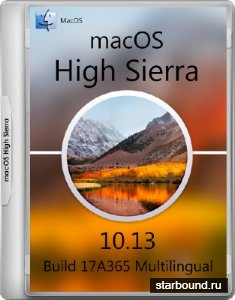 macOS High Sierra 10.13 Build 17A365 (2017/MULTi/RUS)