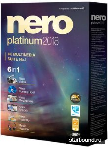 Nero Platinum 2018 Suite 19.0.07300 Full RePack + Content Pack