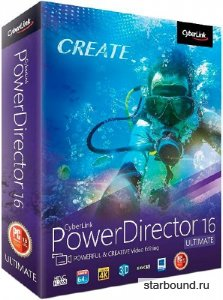 CyberLink PowerDirector Ultimate 16.0.2420.0 + Rus