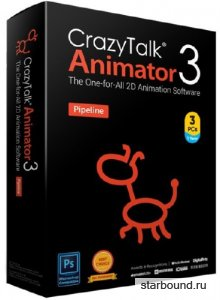 Reallusion CrazyTalk Animator 3.3.3007.1 Pipeline + Resource Pack + Bundle