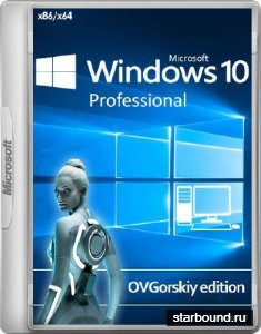 Windows 10 Professional VL 1809 RS5 by OVGorskiy 10.2018 (x86/x64/RUS)