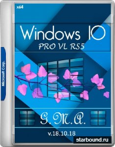 Windows 10 Pro VL RS5 G.M.A. v.18.10.18 (x64/RUS)