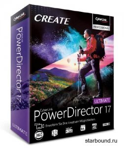 CyberLink PowerDirector Ultimate 17.0.2217.0 + Rus