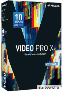 MAGIX Video Pro X10 16.0.1.242 RePack by Pooshock