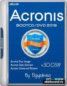 Acronis BootCD/DVD 2019 RePack by Elgujakviso 30.03.19