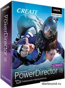 CyberLink PowerDirector 18.0.2313.0 Ultimate + Rus