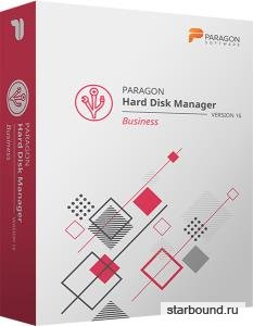 Paragon Hard Disk Manager 16 Business 16.20.1 + BootCD