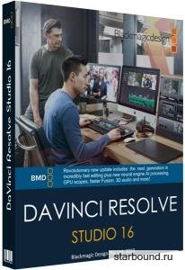 Blackmagic Design DaVinci Resolve Studio 16.2.0.55 RePack by KpoJIuK